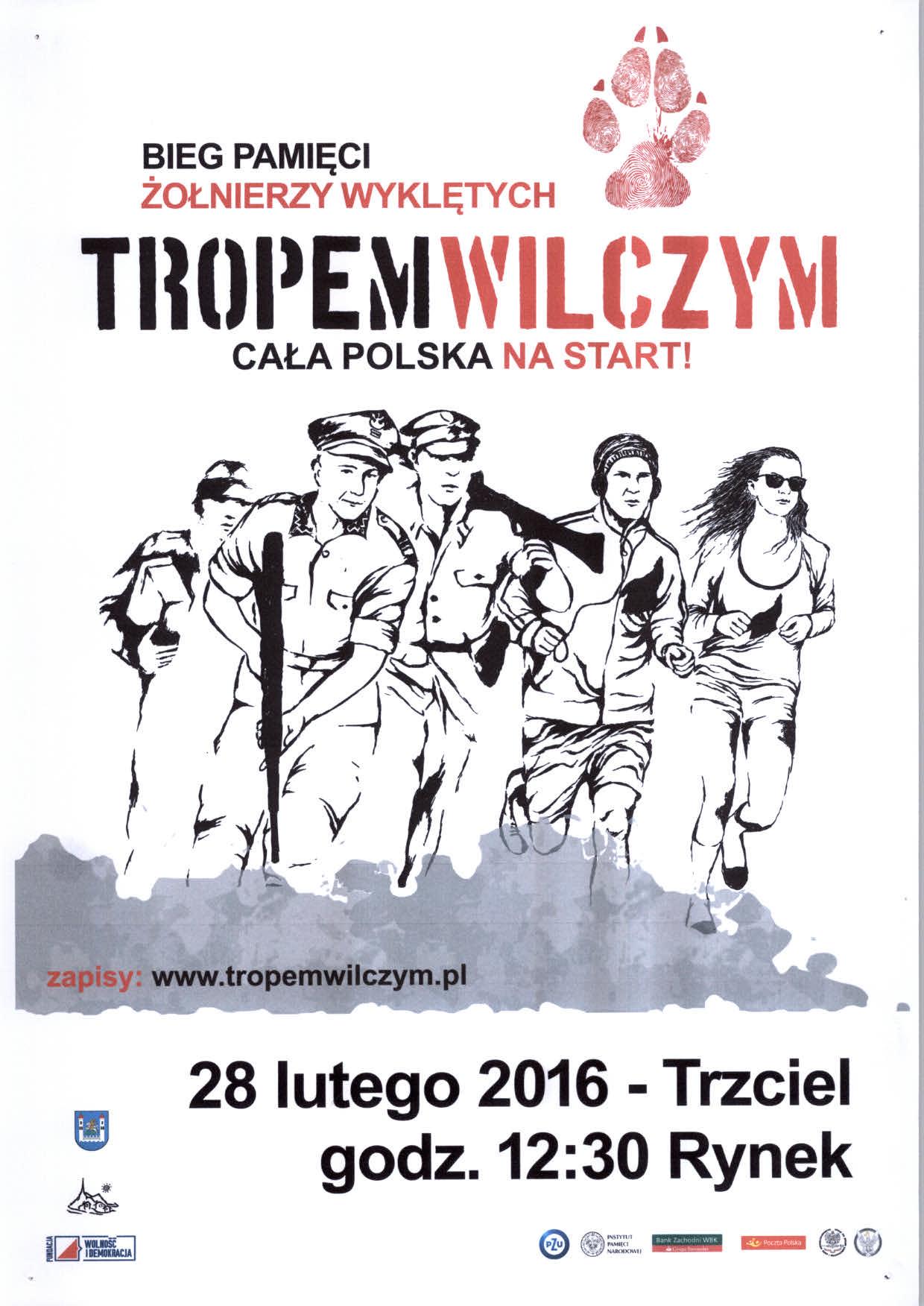 28 luty 2016 – Bieg Pamięci żołnierzy wyklętych