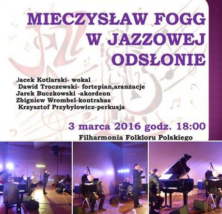 Mieczysław Fogg w jazzowej odsłonie na Rybadio.pl