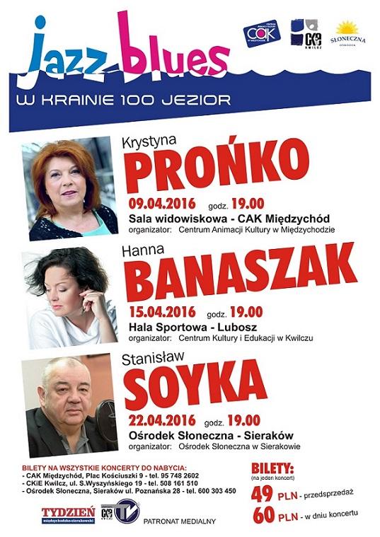 Kwietniowy Jazz Blues w Krainie 100 Jezior!