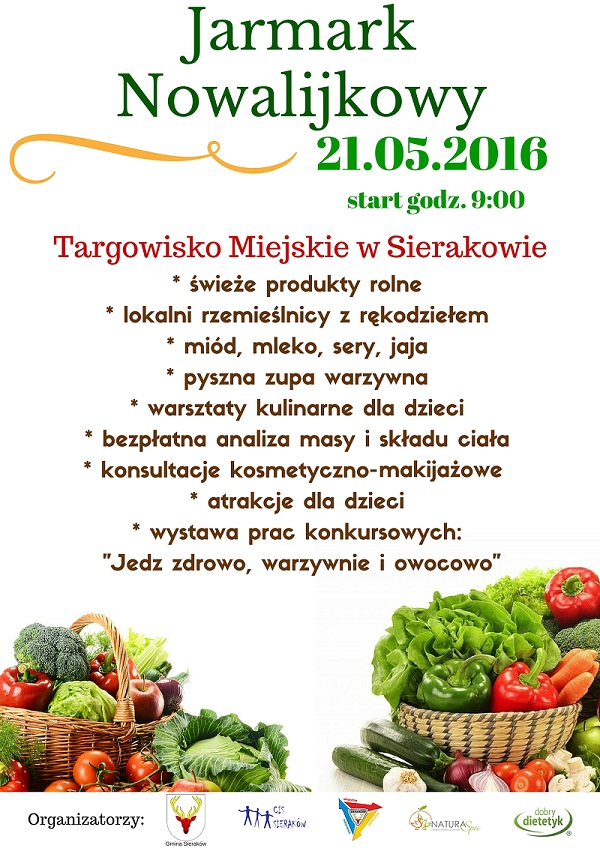 Jarmark Nowalijkowy w Sierakowie