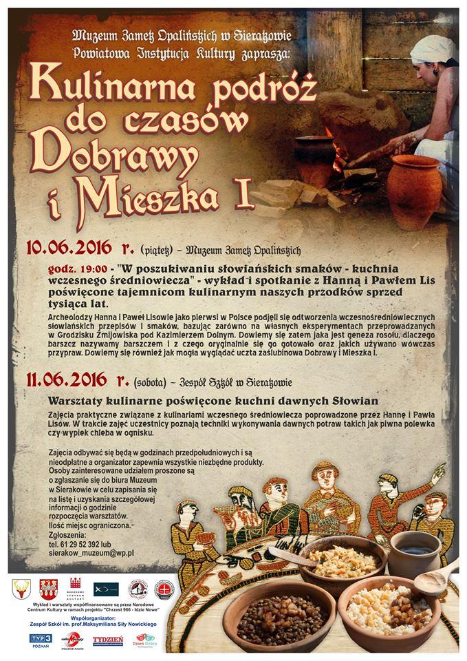 Kulinarna podróż w sierakowskim Muzeum
