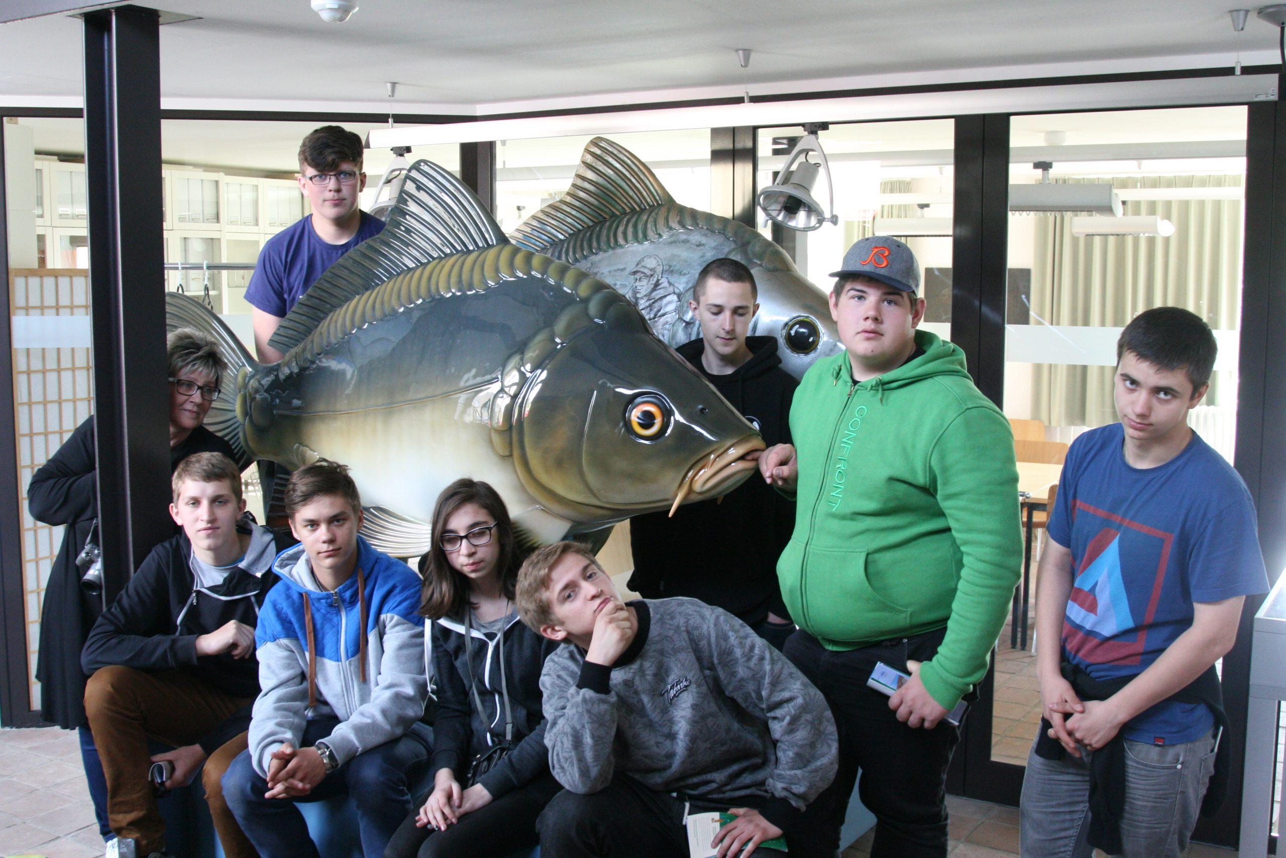 Sierakowscy rybacy  na praktykach