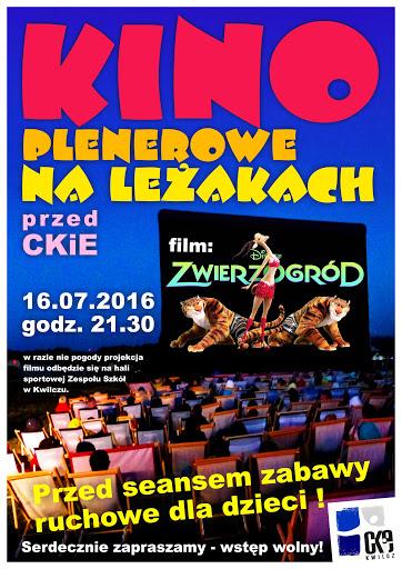KWILCZ – Kino plenerowe na leżakach