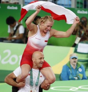 Medal Olimpijski dla Moniki Michalik