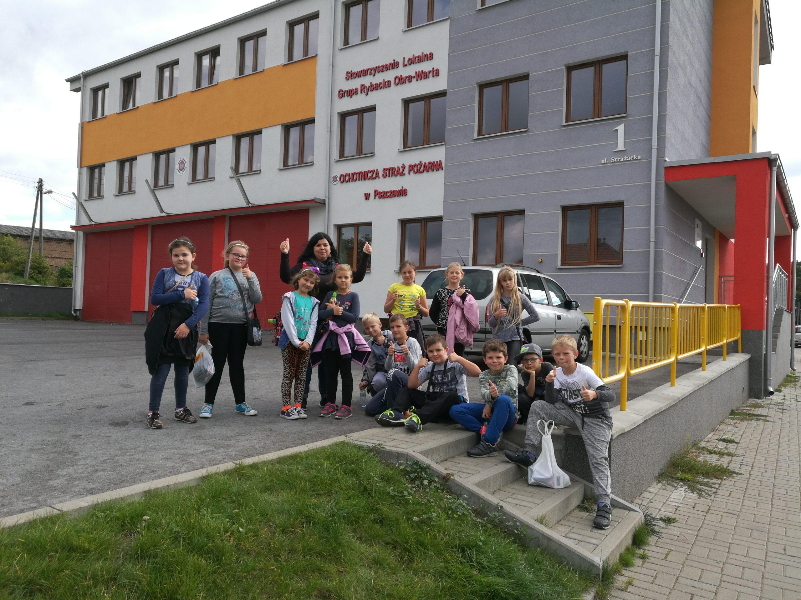 Gościliśmy uczniów Zespołu Szkolno-Przedszkolnego im. Antoniny Woźnej  w Przyprostyni