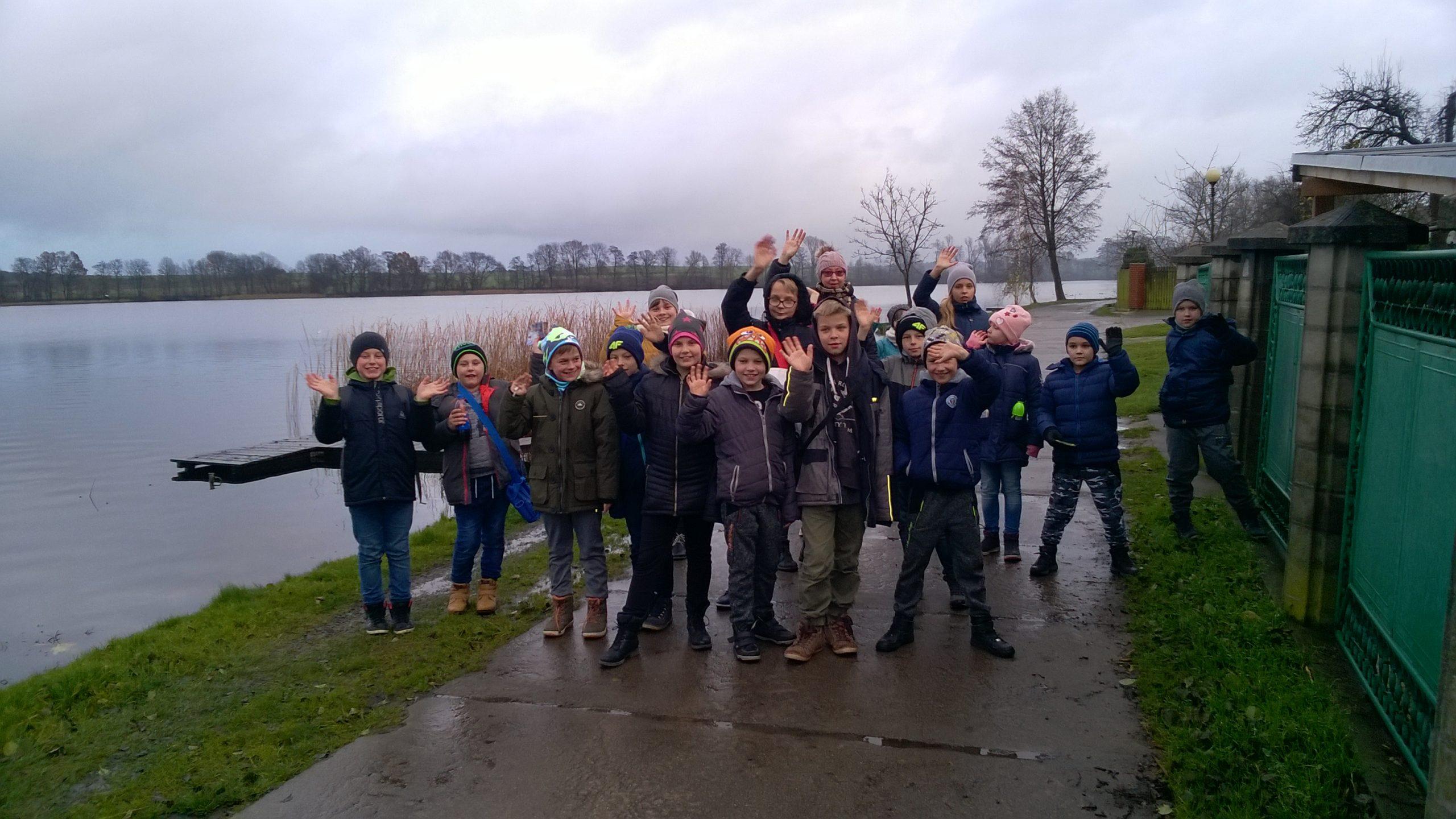 Gościliśmy uczniów z Łomnicy