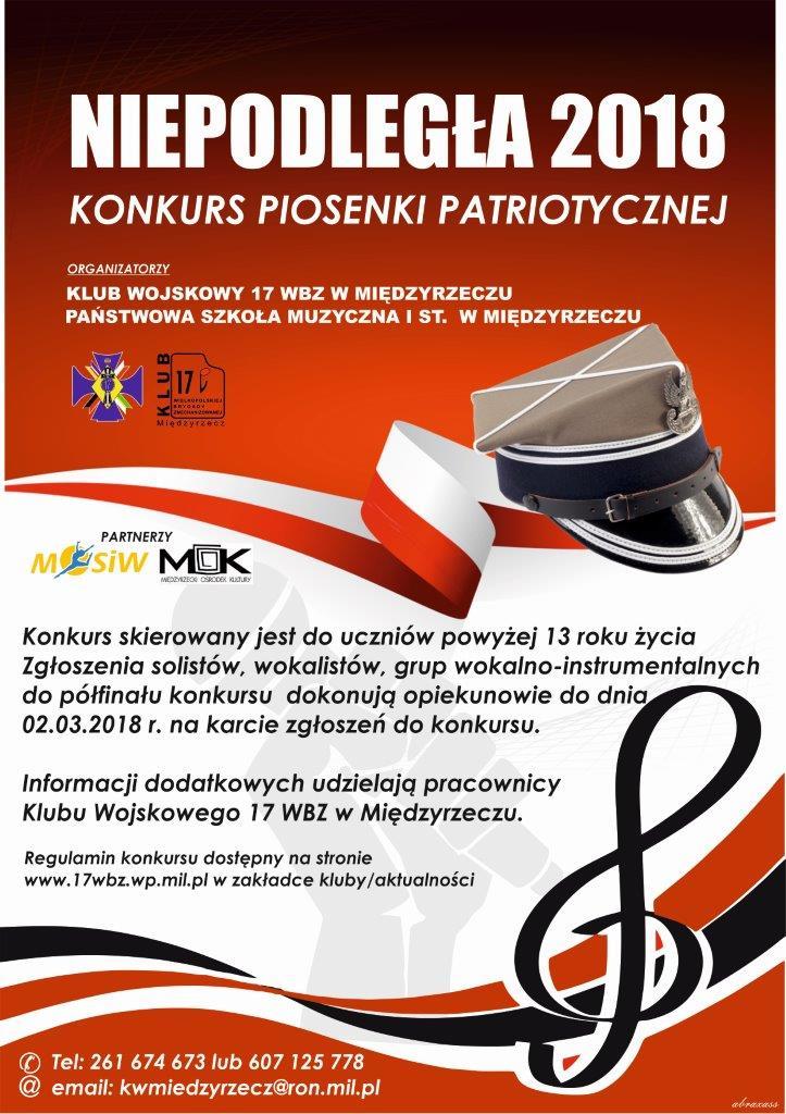 Konkurs Piosenki Patriotycznej w Międzyrzeczu