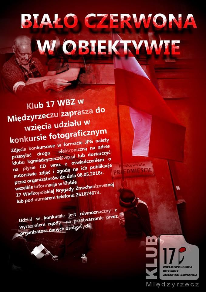 Zapraszamy do udziału w konkursie Biało Czerwona w Obiektywie