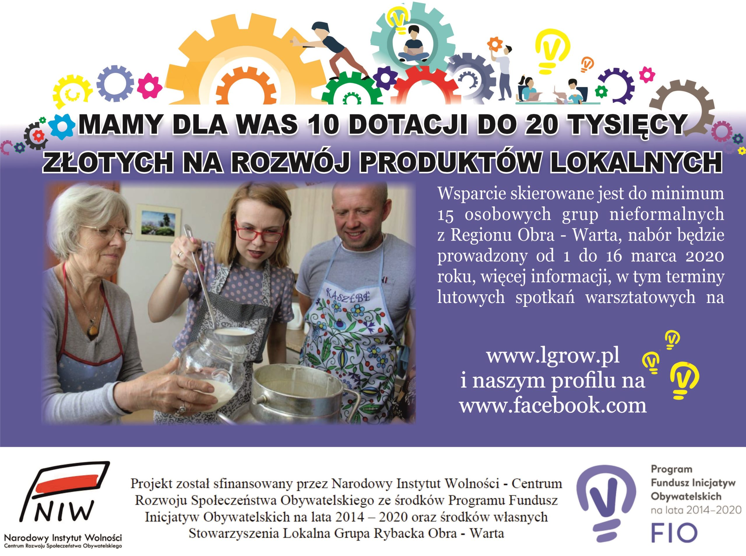 Rybackie Inicjatywy Lokalne 2020 – mamy dla Was dotacje do 20 tysięcy złotych ! (wydłużenie terminu składania wniosków)