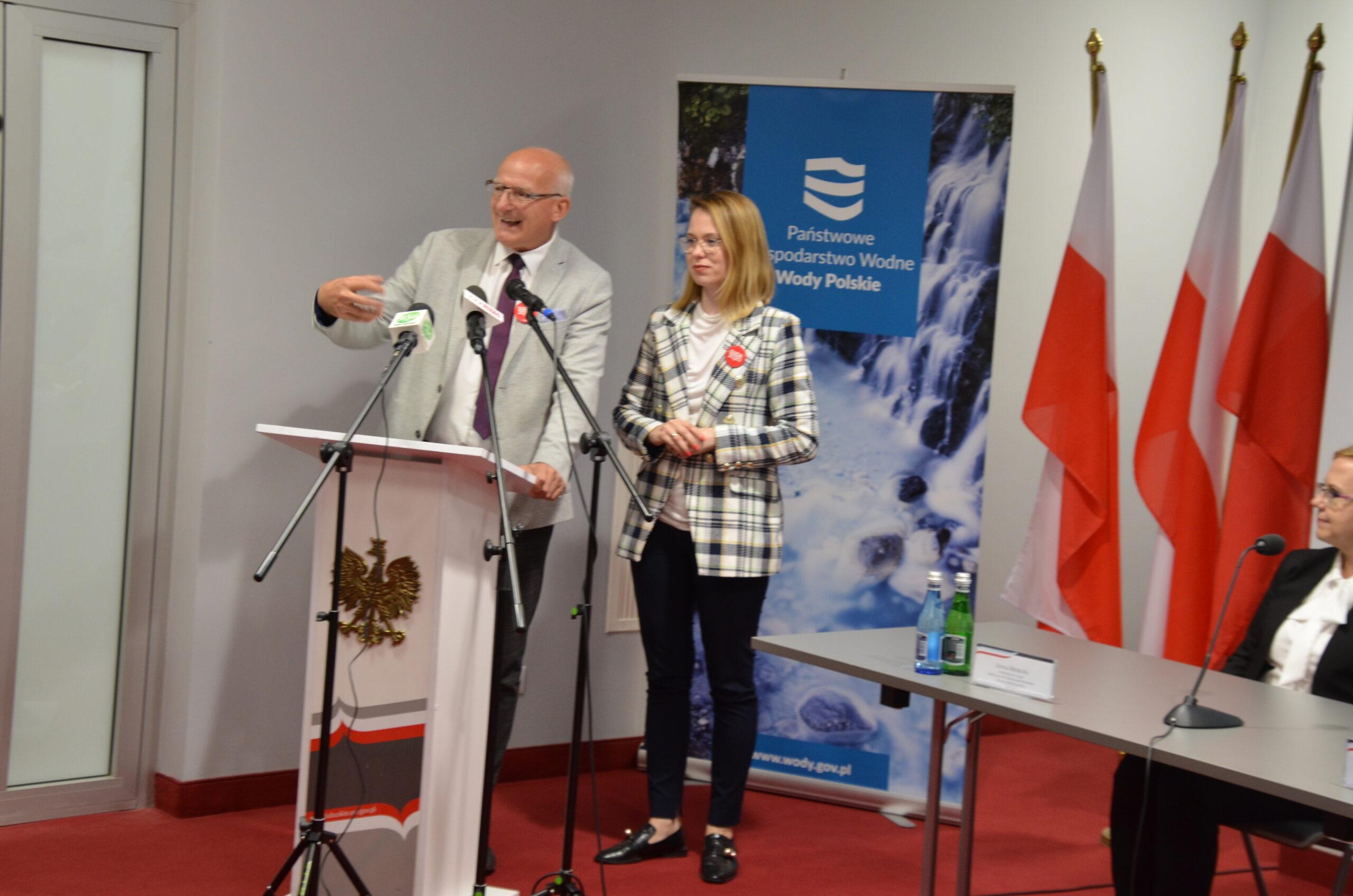 Wody Polskie odbudują dwa zniszczone jazy na rzece Obrze