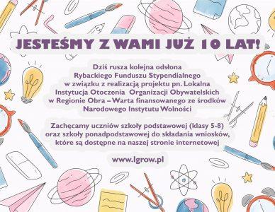 Rybacki Program Stypendialny: 3 Edycja PROO 2019-2021