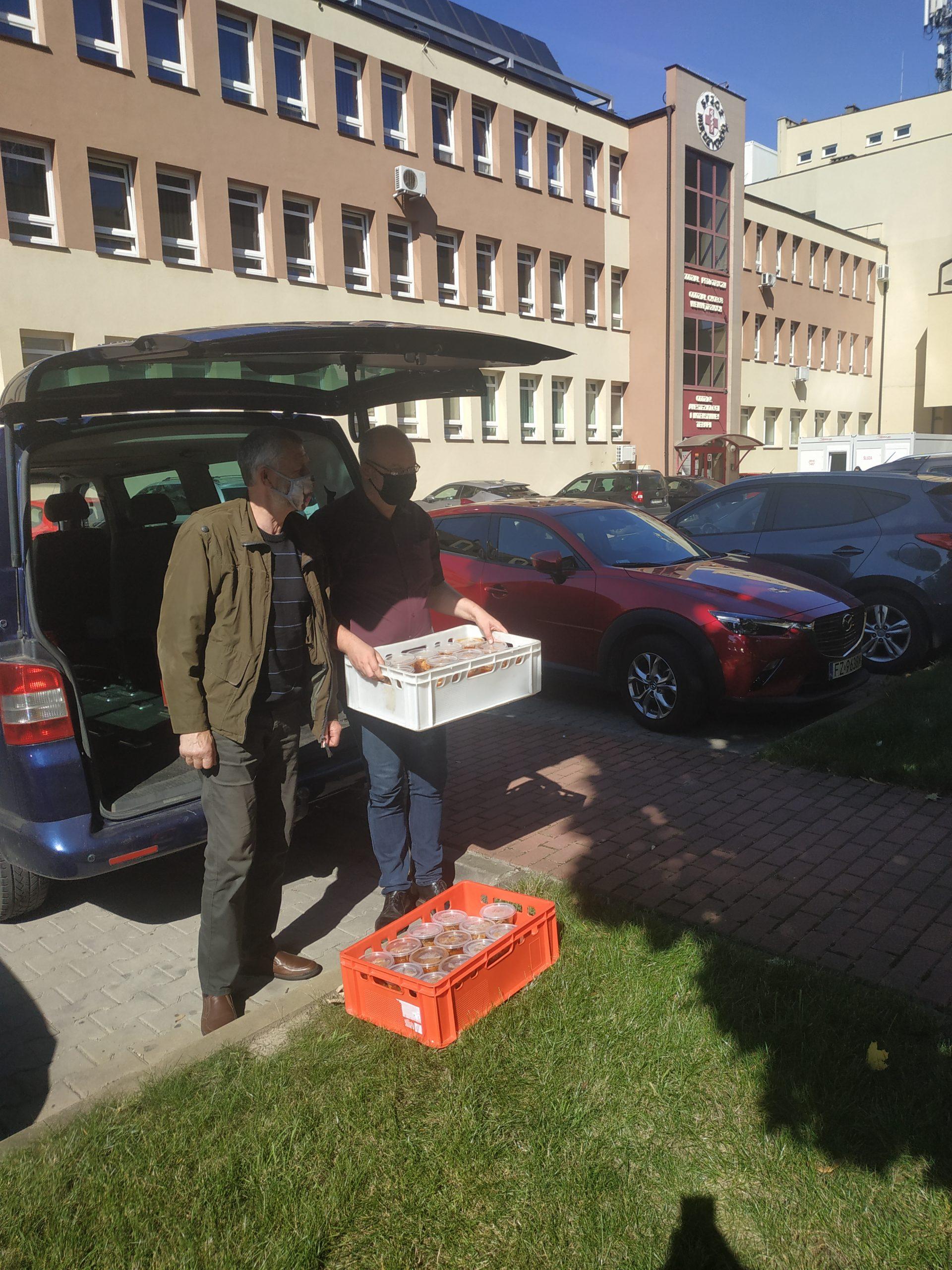 """9 września 2021, 2 dostawa w ramach akcji """"Błękitne Krwiodawstwo"""" w Regionie Obra – Warta"""